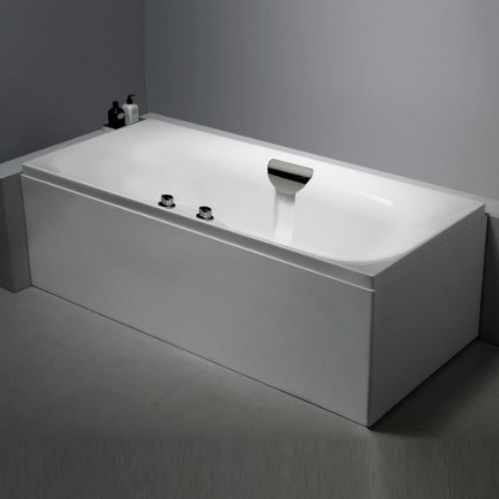 Echelon De Bath 1800 x 800mm With Tap Ledge, Waterfall Filler & Waste